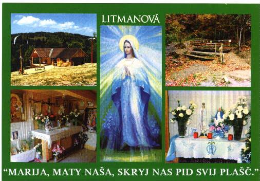 «Je suis l'Immaculée Pureté», a dit la Vierge Marie, à Litmanova. Litman3